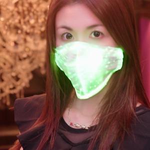 光るマスク、レインボーマスク