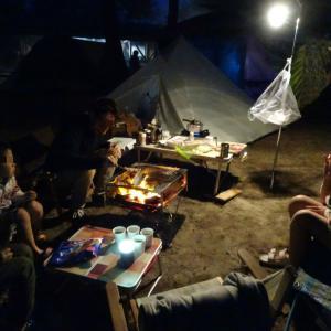 鳥取砂丘の柳茶屋キャンプ場からふもとっぱらキャンプ場