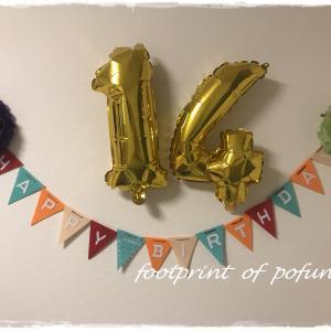 祝☆14歳