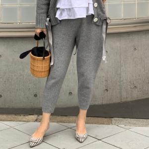 new arrival カシミヤ混pants