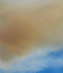 ロサンゼルスの山火事&新月