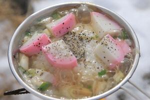 加藤文太郎の雑炊
