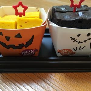 セブンイレブンの【ひとくちパンプキンチーズ&ショコラ】