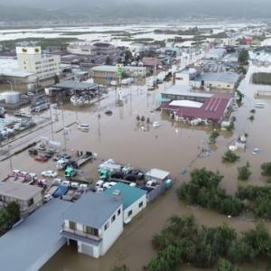 台風被害の大きさに驚きます