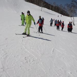 スキー教室が終了しました。