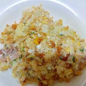 焼き飯/豚こま小ねぎ玉子刻み生姜醤油漬け