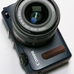 Canon EOS M2 ベイブルー
