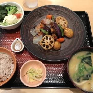 すけそう鱈と野菜の黒酢あん定食@大戸屋