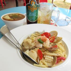 Seafood Tom Yum Cream Pasta が旨すぎる!!@ 吃 Western