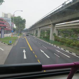 シンガポール初日;Tampines Round Mkt & FC へ。