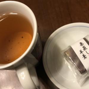 栗蒸し羊羹(志美津屋)& ブランチのすき焼き