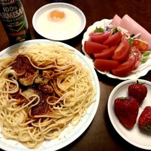 ランチ*冷凍スパゲッティ