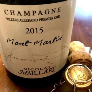 Nicolas Maillart 2015*素晴らしい果実味のシャンパーニュ♪