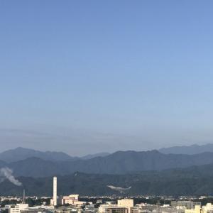 おはよう丹沢!ほんわりな朝。