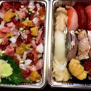 「魚男・磨き」のお寿司とシャンパーニュ♪