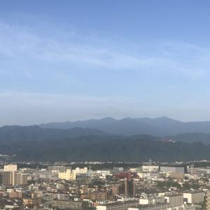 おはよう丹沢!いい朝です。