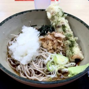 冷しおろし蕎麦+ちくわ天@箱根そば