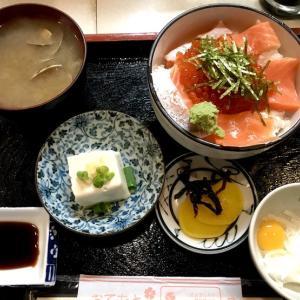 鮭イクラ丼@幸喜寿司(立川)