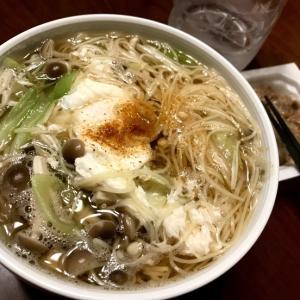 ダイエット月見にゅう麺