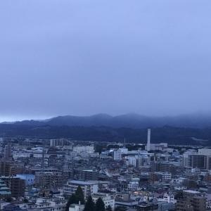 おはよう丹沢☆台風の雨があがった朝