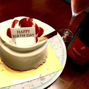 いちごの誕生日ケーキ♪ GRAMERCY NEWYORK