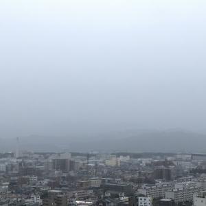 おはよう丹沢★雨雲レーダーと睨めっこ