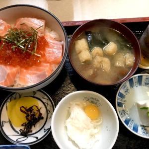 鮭イクラ丼@幸喜寿し(立川)