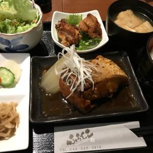 鰤大根と唐揚げ定食@ふらんこ