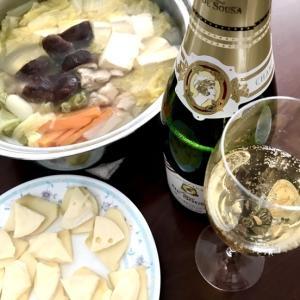 鍋とシャンパーニュ★大晦日のランチ