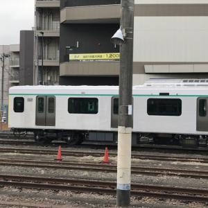 八王子駅で見た東急車両