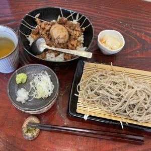 ルーローハンとお蕎麦のセット@しぇもと(立川)