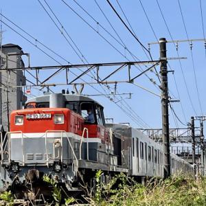 【横浜線を走る!】東急車両の甲種輸送【初めての撮り鉄!】