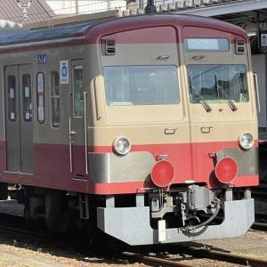 西武多摩川線101系甲種輸送(八王子駅にて)