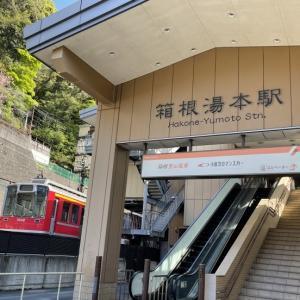 ロマンスカーGSE乗車記録(箱根湯本→町田)
