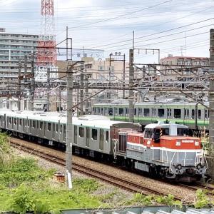 東急2020系甲種輸送(橋本)& 209系千葉 長野廃車配給(八王子)