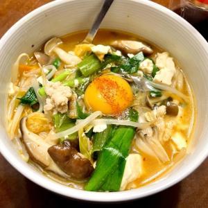 キムチとか豆腐のスープ ★今日のナゾ料理♪