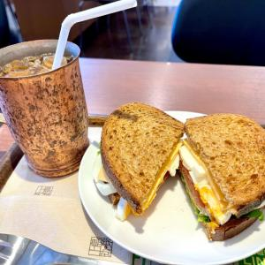 BLT with チーズエッグ@上島珈琲(横浜)