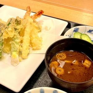 天ぷらご膳@日本料理いらか(横浜)