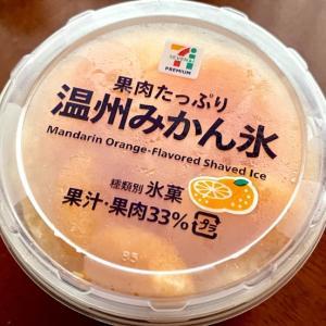 果肉たっぷり 温州みかん氷(セブン)