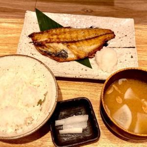 あこう鯛の干物定食@炭火とと和くら(横浜)