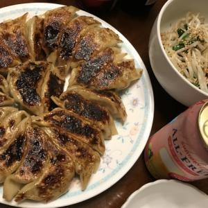 夏休み最後の日は餃子!!