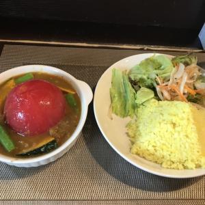 完熟トマトの丸ごとカレー@これく亭(八王子)