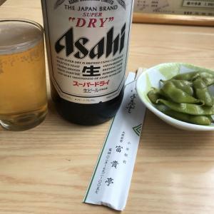 【なう】岩魚定食@富貴亭(小出駅)