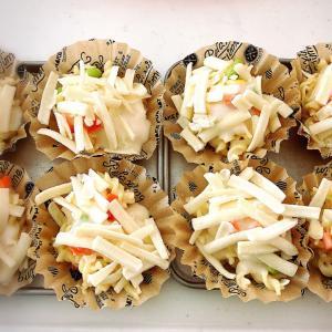 お弁当・お昼に便利! 自家製冷凍食品パート2 〜簡単グラタンの巻〜。