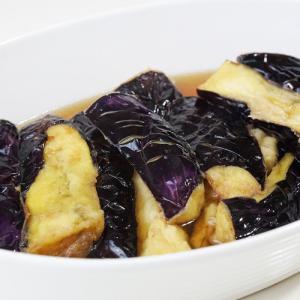 ヤマキの麺つゆで作る『ナスの揚げ浸し』