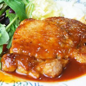 『ブルドックうまソースで作るポークソテー』豚ロースとんかつ用肉の美味しいレシピ