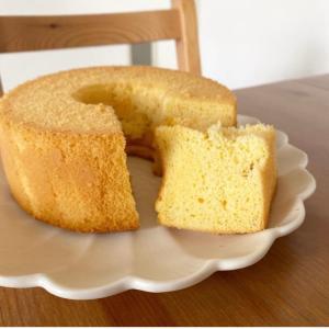 【レシピ】グルテンフリー・糖質オフ☆米粉シフォンケーキ
