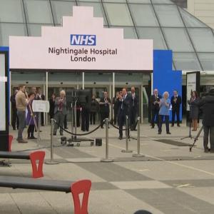 ナイチンゲール(野戦病院)病院オープン