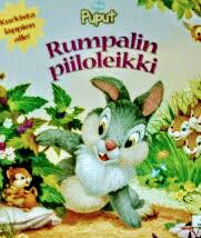フィンランド語絵本 Disney / Rumpalin piiloleikki