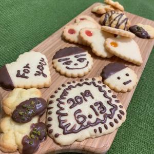 母娘でクッキー作り\(^o^)/